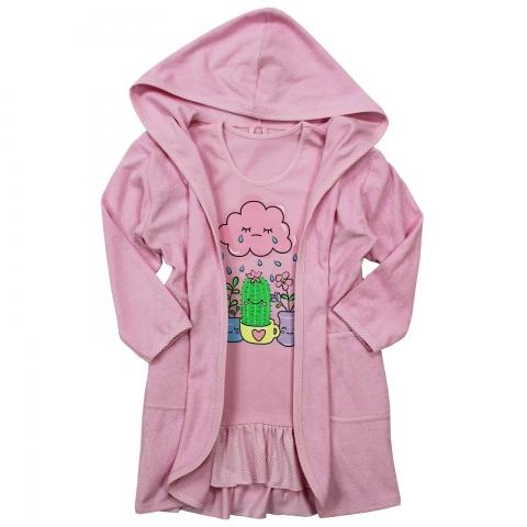 Сорочка Модель 887 с халатом