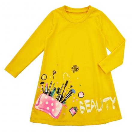 Платье Модель 1224 желтый