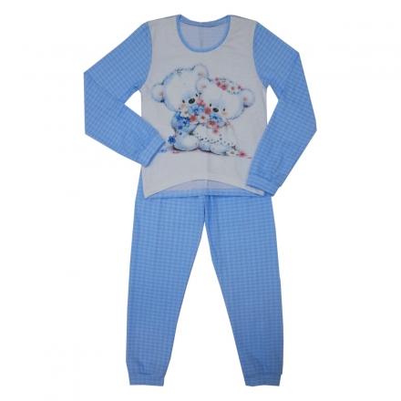 Пижама Модель 481 голубая