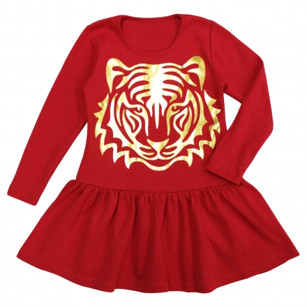 Платье Модель 840 красное